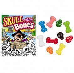 Skull and Bones candy by Sweetworks, the makers of Sixlets, is made in a nut-free facility and is also gluten-free.