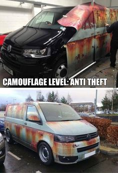 New week - new PICDUMP! Have fun with the pictures :) - Lustige Augenblicke - Kombi Motorhome, Campervan, Car Memes, Car Humor, Vw T5, Volkswagen, Transport Pictures, Car Wrap, Car Insurance