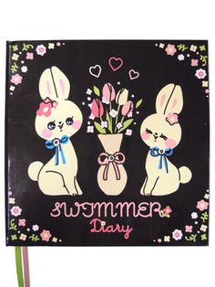 Diary with Mirror - Rabbit by Swimmer Japan, swimmer.co.jp