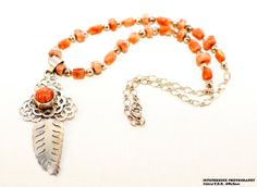 Sunstone Floral Sunwheel Cross Litha - Midsummer Necklace One-Of-A-Kind Free Shipping & Gift Box #eyeintheskydesigns