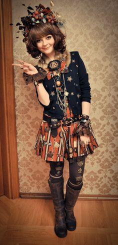 Kawaii Steampunk outfit