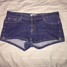 Aeropostale Denim Shorts These Aeropostale Denim Shorts are in really great condition! I wore them a lot before I grew out of them - no stains or tears/rips! They are a size 7/8 Aeropostale Shorts