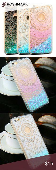 SALE!!Liquid Glitter Quicksand Clear Phone Case Iphone 6s Brand new boutique  Accessories Phone Cases