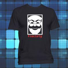 1a7b5b21 T Shirts · FSociety T Shirt Mr. Robot T-Shirt Elliot Alderson Hacker Tee  #Varies #