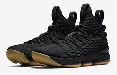 Release Date: Nike LeBron 15 Black Gum