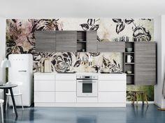 KVIK keuken met Sterk-design behang