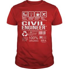 Awesome Tee For Civil Engineer T-Shirts, Hoodies. BUY IT NOW ==►…