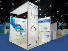 A modular booth design can be reconfigured to create different types of set-ups for multiple events. This is the most interesting aspect of modular stalls as this allows you to change the look of your display without strenuous efforts or further investment.