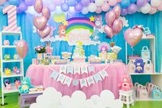 Carebears birthday party