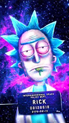 Cartoon Wallpaper, Trippy Wallpaper, Cool Wallpaper, Galaxy Wallpaper, Rick Und Morty Tattoo, Ricky Y Morty, Rick And Morty Drawing, Rick And Morty Poster, Dope Wallpapers