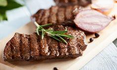 Stek wołowy z grilla