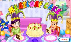 How To Make Meatloaf, Mango Cake, Cake Games, Games Today, April Fools Day, Cooking Games, Meatloaf Recipes, The Fool, Cake Recipes