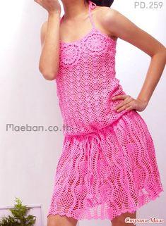 Fotos de revistas tailandesas. Ganchillo (descripción). - Knitting - casa las mamás
