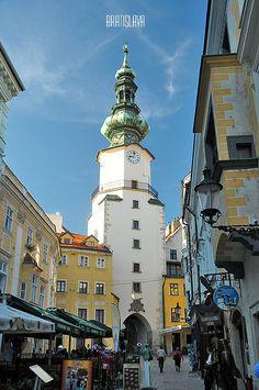 Staré, Mesto, Bratislava,Slovakia.