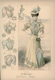 [De Gracieuse] Japon en verschillende blouses (September 1905)