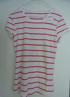 A vendre sur #vintedfrance ! http://www.vinted.fr/mode-femmes/t-shirts/12530034-haut-tex-rouge-et-blanc