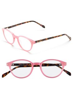 6c4f1fbb3de In love with this chic Lilly Pulitzer reading glasses in tortoise and pink.  Stylish Reading
