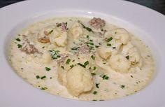Blumenkohl-Käse Suppe nach Odinette, ein leckeres Rezept aus der Kategorie Gemüse. Bewertungen: 164. Durchschnitt: Ø 4,5.