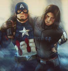 Steve Rogers & Bucky Barnes Fan Art