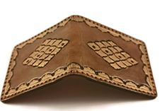 JUNIOR LEATHER WALLETS Junior Leather by LindasLeatherStore