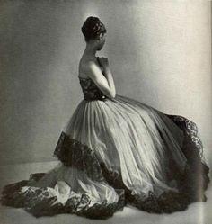 Cristóbal Balenciaga Evening Gown, 1948