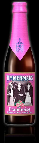 A spring/summer favorite, Timmerman's Framboise genuine Belgian Lambic beer. Fruity, light after-taste.