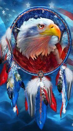 Diy diamond painting bald eagle cross stitch diamond mosaic embroidery needlework home decoration crystal sqaure drill Native American Wolf, Native American Pictures, Native American Artwork, Patriotic Pictures, Eagle Pictures, Eagle Wallpaper, Dream Catcher Art, Eagle Art, Native Art