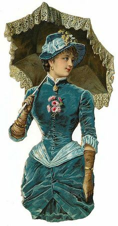 Vintage Die Cut Women %%%%......http://www.pinterest.com/isabelleisabo/image-pour-transfert/