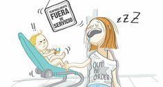 Madre Soltera, muestra las situaciones más divertidas de de ser mamá  en 15 Cómics.