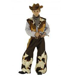 Déguisement COW-BOY Luxe  déguisement cow-boy avec boléro sans manche, empiècement vache, holster et chapeau.  #lepanacheblanc