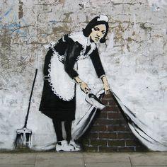 Things you need to know about graffiti artist Banksy for pub conversations - Day Bag News - handbag.com