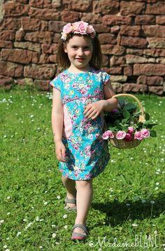 Miss Polly Dress Nähconnection nähen Kleid