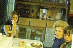 Priscilla in Graceland kitchen with her Mom