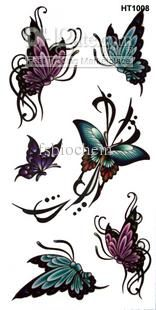 butterfly and flower tattoo - Google Search