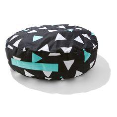 triangle Floor Cushion roomates
