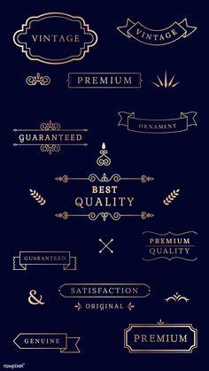 61 Ideas design logo photography for 2019 Vector Can, Vector Free, Banners, Vintage Banner, Photography Logos, Vintage Labels, Free Illustrations, Banner Design, Blue Backgrounds