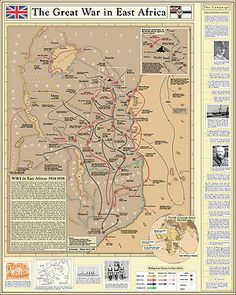 """Imperialism. """"The Great War in East Africa"""" The great war is referring to WWI, both Germany and Britain were looking to expand their empires and saw East Africa as a great place to do it. They fought over which countries each country would take over."""