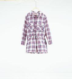 Image 1 de Combinaison à carreaux de Zara