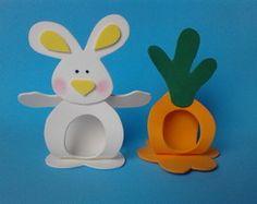 porta bombom coelho e cenoura