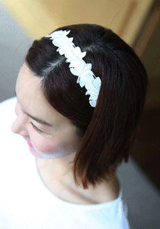 Floral Lace Hairband  SFSELFAA0014032