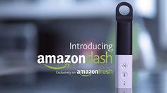 米アマゾン、声やスキャンで足す買い物メモ専用デバイスAmazon Dashを発表。食品・雑貨を同日配達 - Engadget Japanese