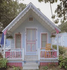 Cute Colorful Cottage | Tiny House Pins