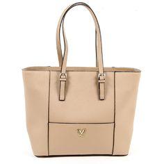 V 1969 Abbigliamento Sportivo Srl Milano Italia Womens Handbag MINK 4d8ef3246f74a