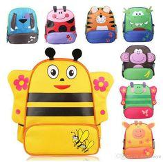 High Quality Boy Girl Kids Cartoon Minion Backpack Child Pre Schoolbag Zoo Gym Backapck Baby Gifts Drawstring Backpack Mesh Backpacks From Donghuiyu, $175.21  Dhgate.Com
