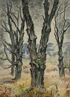 Artworks by Charles Ephraim Burchfield
