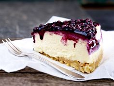 Käsekuchen - die schönsten Rezept-Ideen - heidelbeer-cheesecake  Rezept
