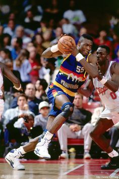 The Sports Alley: Classic NBA Throwbacks: Dikembe Mutombo