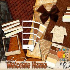 Welcome Home - $1.49 : Caroline B., My Magic World of Digital Design