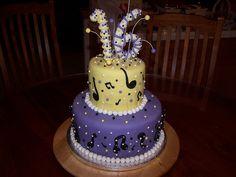 Music Birthday Cakes for Girls Music Birthday Cakes, Boys 16th Birthday Cake, Music Cakes, Sweet 16 Birthday Cake, Birthday Cakes For Teens, Golden Birthday, Birthday Wishes, Birthday Ideas, Teen Cakes
