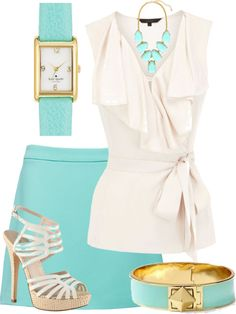 """""""Turquoise"""" by citas ❤ liked on Polyvore"""
